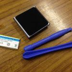 iPod nano 6世代電池交換やってみた(前編)